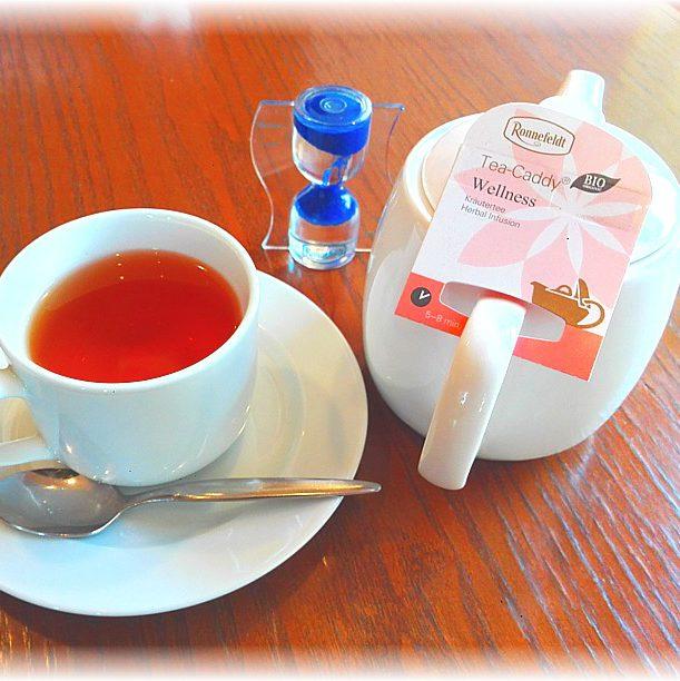 ロンネフェルトのお茶